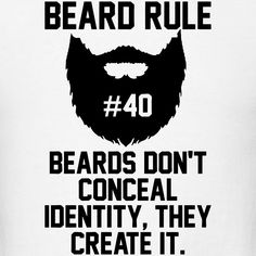 Beard Rule #40 T-Shirt | Beard Rules
