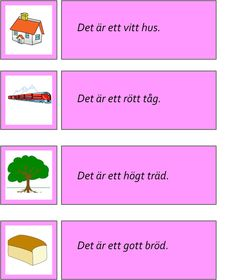 montessorimaterial - Learn Swedish, Swedish Language, Speech Therapy, Montessori, Autism, Education, Learning, School, Barn