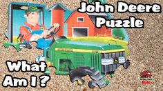 John Deere Farm Equipment Puzzle l What Am I?