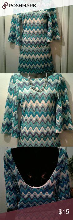 Drop down back dress Flare sleeve Dresses Midi