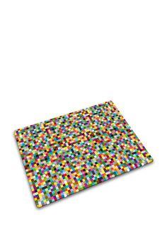JOSEPH JOSEPH Odor and Stain Resistant Cutting Board  in multi color Mosaic design