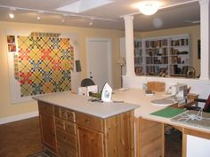 Quilt Studio Ideas | Quilting Studio Organization http://www.clearview-designs.com/featured ...
