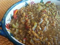 Green and Gold Lentil Pot