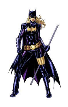 Batgirl fucked