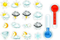 Weather Decal Peel and Stick Repositionable Removable Weather Wall Sticker Vinyl Wall Art, Wall Sticker, Vinyl Decals, Autumn Decorating, Some Pictures, Planning And Organizing, Wall Quotes, How To Remove