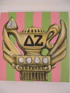 The Delta Zeta pin is displayed in the Smithsonian as the most beautiful sorority pin, and is honored and created by Tiffany & Company.