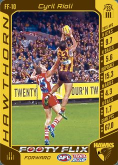TeamCoach - AFL Trading Card games where you are the coach Football Cards, Football Players, Baseball Cards, Games For Kids, Card Games, The Twenties, Legends, Kicks, Sports