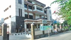 Suasana kantor baru UPPD Kelapa Gading