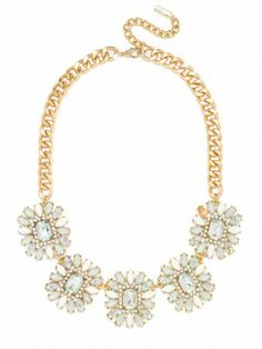 this necklace has a sweet vibe that can dress up any look.