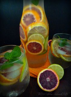 Citrus Sangria featuring Florida Blood Oranges is a remarkably refreshing and Delicious adult beverage featuring stunning Florida Blood Oranges, zesty lemons and sweet key limes with the finest Pin...