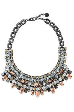 #BlackFriday SALE ON NOW!  $238 down to $142.80 Sale price  Style for day or night with the Kahlo bib mixed metal statement bib necklace from Stella & Dot. Find fashion necklaces, trendy necklaces, pendants & more.