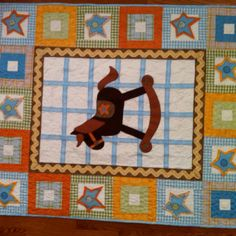 Finished a baby quilt for a display at Jackman Fabrics.  Also included a diaper stacker, pillow and 'bunting'.  Lots of hand work and Wool appliqué.