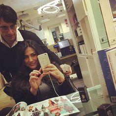 #MariaMazza Maria Mazza: Quasi pronta ... Qui mi sento a casa grazie Enzo , the boss, @teamleovinc #me #mariamazza #look #hair #top