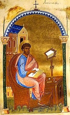Icon of St. Luke the Evangelist