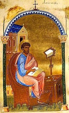 Icon of St. Luke the Evangelist