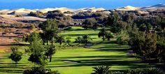 Golf course at Maspalomas Gran Canaria Spain