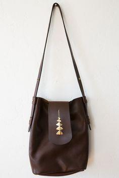 samantha grisdale mahogany romany bag – Lost