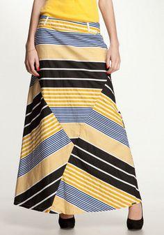 NÜMPH Gry Long Skirt