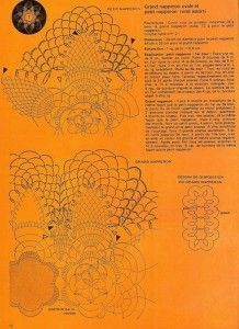free diagrams for crochet pineapple stitches 7