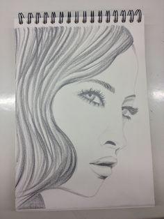 Primer dibujo a partir de foto