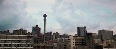 Joburg skyline Cn Tower, South Africa, Skyline, History, Building, Travel, Historia, Viajes, Buildings