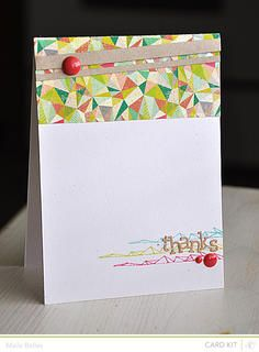 Thanks *Card Kit Only* by mbelles at Studio Calico