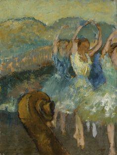 Edgar Degas - The Ballet [1891] -