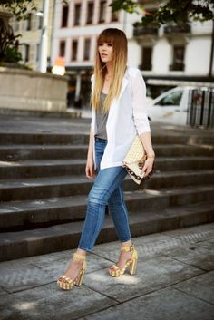 Fashion, moda, jeans