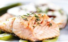 Slow-Baked Salmon with Lemon and Thyme