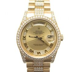 d91c363c6b9 Rolex Day-Date Swiss-Automatic Watch Diamond Watches For Men