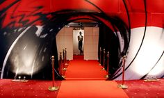 James Bond entrance