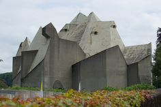 Pilgrimage Church in Neviges, Germany | Brutalism - Architecture / Design