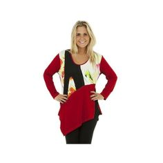 One O One Paris: Colors Of Autumn Sweater Tunic, only on wildcurves.com!