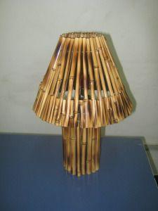 Luminárias | Arte em Bambu