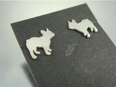 French Bulldog earrings - yes please!!