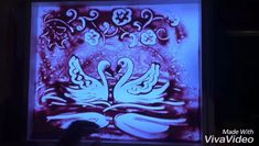 Sand drawing on a light table is magic🔮 Sand Drawing, Sand Art, Light Table, Neon Signs, Romantic, Magic, Education, Drawings, Videos