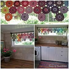 Resultado de imagem para cortinas em croche