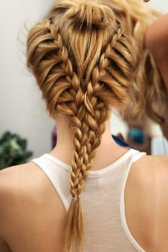 Check out this very elaborate and cool braid!  More at: www.hairstylesdesign.com