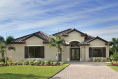 Florida Luxury Custom Home Design  Plan: Bardmoor 1162