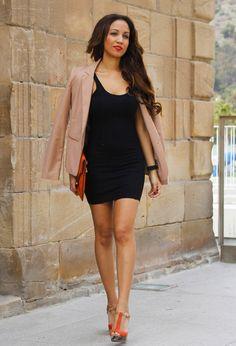 @roressclothes closet ideas #women fashion Orange Clutch Bag and Orange High Heels