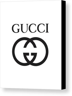 c1a7058f Gucci - Black And White 02 - Lifestyle And Fashion Canvas Print by TUSCAN  Afternoon.