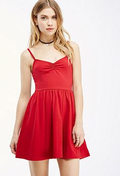 Cami Fit & Flare Dress | FOREVER21 - 2000082353