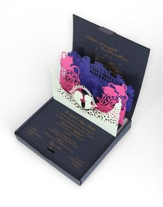 foto de 5 Increíble Pop-Up Invitaciones de boda