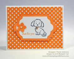 Stampin' Up Bella & Friends and Pretty Kitty Swap Samples