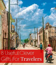 What can you give a traveler that won't take up too much space? These gift ideas are genius! // yesandyes.com #travel #gift ideas
