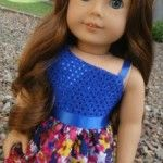 One Shoulder Dress Tutorial for American Girl Dolls, tutu, duct tape shoes, cast, circle skirt, peplum skirt, ... patterns