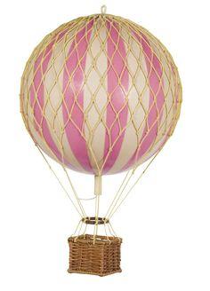 Large hot air balloon pink - via DTLL.