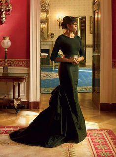 Michelle Obama. Photo by Annie Liebowitz. Elegant and beautiful. Inside and out.