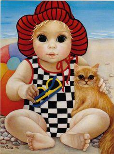 """""""Seaside Susie"""" by Margaret Keane"""