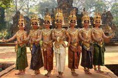 Traditional Khmer dress